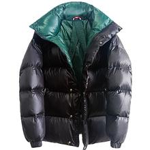 欧洲站sl020冬季gj90白鸭绒男女式加厚保暖蓬松面包服外套