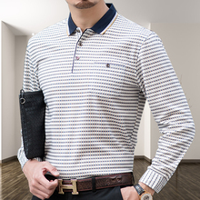 中年男sl长袖T恤春wf爸装薄式针织打底衫男装宽松全棉上衣服