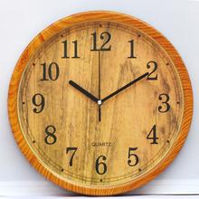 儿童房静音挂钟客厅卧室(小)学生静音sm13表卡通le钟石英钟表