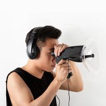 观鸟仪声音采集sm音器户外野so观察仪8倍变焦望远镜
