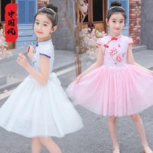 5女童装sm1(小)孩子4jo夏装8宝宝9中国风7夏天10公主连衣裙12岁