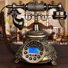 复古座sn家用欧式老py固定无线插卡旋转客厅有线