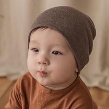 韩国进snKIDS akRA婴宝宝包头帽子春秋季男女宝宝棉线套头保暖帽