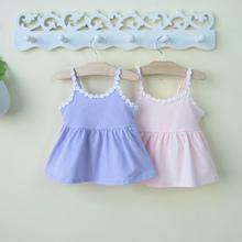 女童宝so吊带公主背ea-1-3岁婴儿连衣裙子夏天衣服夏装6个月12