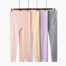 纯棉托so睡裤线裤衬ic裤单件孕妇装可调节怀孕期长裤