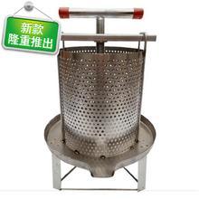压榨机so用核桃油不tv蜜机(小)型家用榨蜜机榨33中蜂蜜分离酒糟