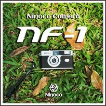 【复古so物】日本nhanf-1胶片相机 135胶卷傻瓜机 带闪光灯