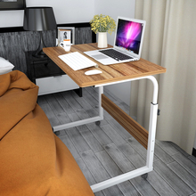 包邮 so易笔记本电ya台式家用简约床边移动升降学习写字书桌子