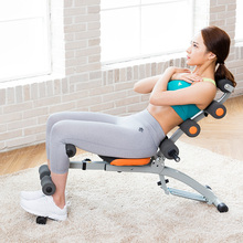 万达康so卧起坐辅助he器材家用多功能腹肌训练板男收腹机女