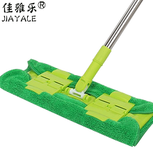 佳雅乐so档平板拖把jo拖把地拖 木地板专用拖把平拖夹毛巾家用