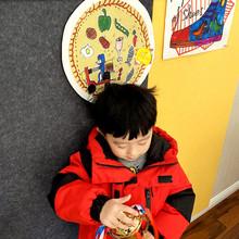 自粘毛sp板墙贴展示rt板照片墙软木板幼儿园软木护墙板墙裙