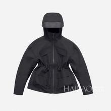 2021春秋新款sp5士短外套rt防水户外冲锋衣女时尚运动上衣潮