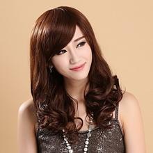 假发女sq卷发齐刘海ny修脸时尚蓬松气质整顶假发女短发卷发套