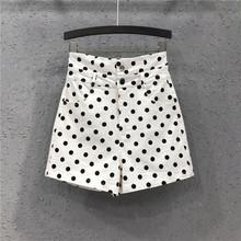 2021夏装时尚新式牛仔短裤st11味女潮ph棉高腰显瘦阔腿热裤