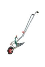 手动开st器的拉带轮in手持履带式家用开垄机耕地种植开沟犁