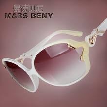 新式太su镜女士复古cw镜正品防紫外线墨镜女时尚潮流装饰镜