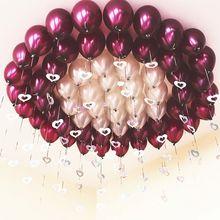 结婚庆su品求婚房布an装饰浪漫婚礼网红生日派对气球免邮批�l