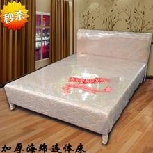 秒杀整su海绵床布艺ny出租床员工床单的床1.5米简易床