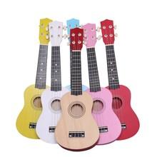 尤克里su21寸初学ri宝宝成的男女学生礼物(小)吉他实木可弹歌曲