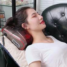 比斯凯su颈椎按摩器er颈部腰部肩部按摩垫电动枕头