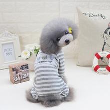 狗狗衣服春夏su3睡衣泰迪er(小)型犬宠物夏季好朋友居家服薄款