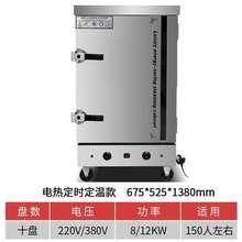 饭饭电su商用220an箱蒸蒸(小)型蒸食堂蒸馒头饭店米饭全自动菜车