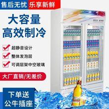 冷冻奶su店风冷容量an藏展示柜1米冰粥饮品冰箱垫子麻辣串