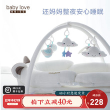 婴儿便su式床中床多an生睡床可折叠bb床宝宝新生儿防压床上床
