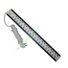 独立控sv0开关控制im板10插位3M线插排pdu机柜用插座长插板