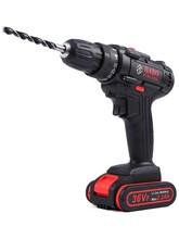 36Vsx锂电钻充电kr家用多功能手电转钻手枪钻