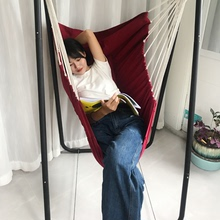 秋千室sx宝宝家用支wq室外摇篮椅子帆布吊椅