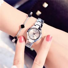 韩国女士钢带(小)巧简约气质手表韩款sz13尚潮流ql中学生女式