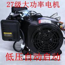 增程器sz自动48vql72v电动轿汽车三轮四轮��程器汽油充电发电机