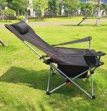 轻便户ta折叠椅子便lx午觉陪护火车帆布凳收纳钓鱼椅躺椅随身