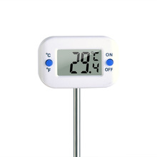 温度计ta温计厨房食dz计烘焙测水温奶温高精度油温温度计探针