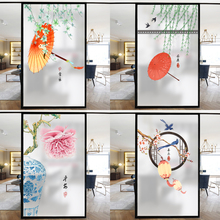 [taehyunfan]客厅阳台玻璃贴纸透光不透