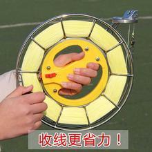 潍坊风ta 高档不锈an绕线轮 风筝放飞工具 大轴承静音包邮