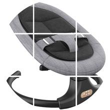 婴儿摇ta椅安抚椅哄pe宝宝哄睡躺椅新生儿用品摇摇床