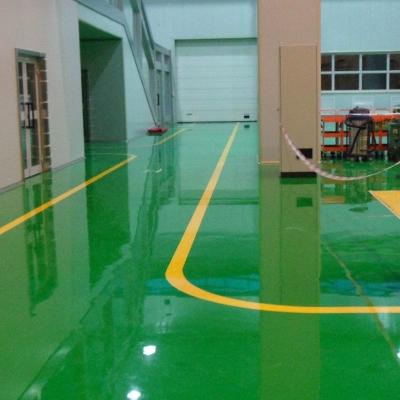 地坪漆ta水泥地耐磨ni面漆施工 自流平地面漆
