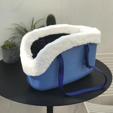意大利飞宝宠物外带包ta7轻易清洁en(小)型犬猫适用特殊材质