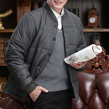 肥佬棉ta男冬季保暖il领内胆中老年棉袄棉服男装上衣加肥加大