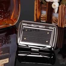手卷烟ta盒便携保湿jd丝盒子保湿罐个性密封金属盒手可放烟纸