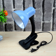LEDta眼夹子台灯ge宿舍学生宝宝书桌学习阅读灯插电台灯夹子灯