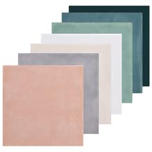 全瓷inta1粉色卫生ge变釉面砖彩色绿色孔雀蓝色(小)白砖150*150