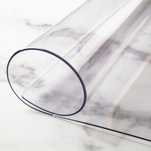 加厚PtaC透明餐桌pu垫桌面软玻璃桌布防水防油免洗水晶板胶垫