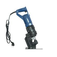 新款手提款电动ta锈钢角铁冲ng机液压打孔器眼多功能手动(小)型