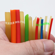 2-6毫米 乳胶拉力绳高弹性实心