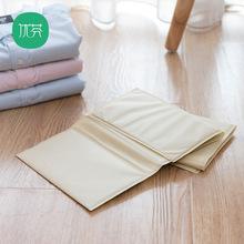 懒的快tc叠衣服板垂xqT恤折衣服叠板叠衣板折衣板折叠