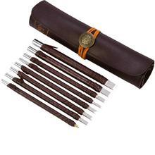 美耐特te刻刀具钨钢hn刀石材木工刻字雕花diy手工木雕刀套装