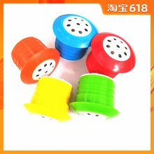 哈哈球te厂音乐盒跳pa跳鹿配件球针气筒气针充气玩具音乐配件